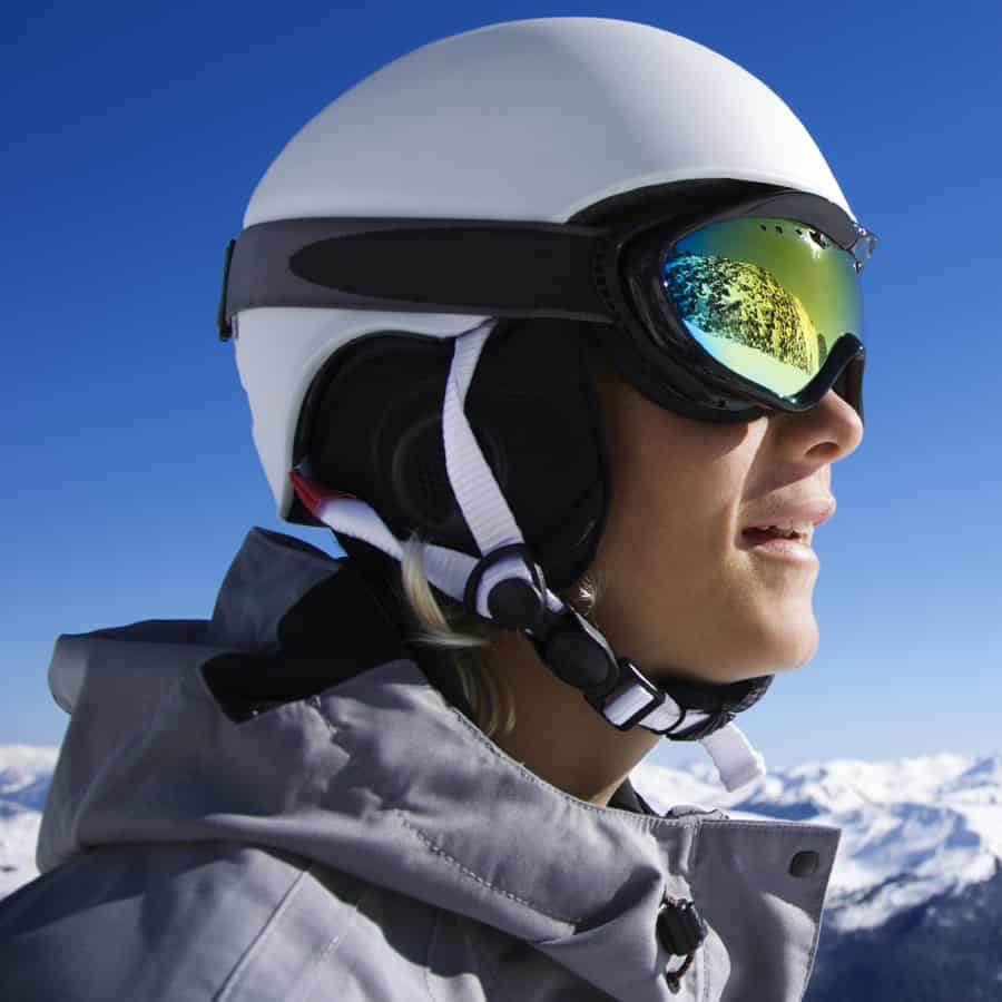 Scratch Resistant Snowboarding Goggles Coating