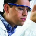 Scratch Resistant Coating for Safety Glasses