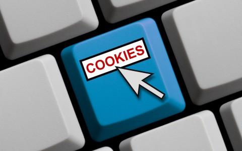 Computer keyboard cookies