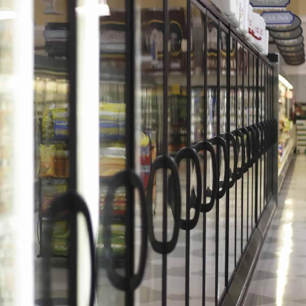 Scratch Resistant Freezer Doors