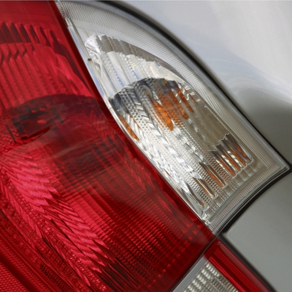 Scratch Resistant Auto Light