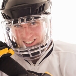Scratch Resistant Coating for Hockey Helmet