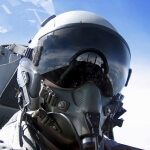 Aircraft Helmet Visor Scratch Resistant Coating