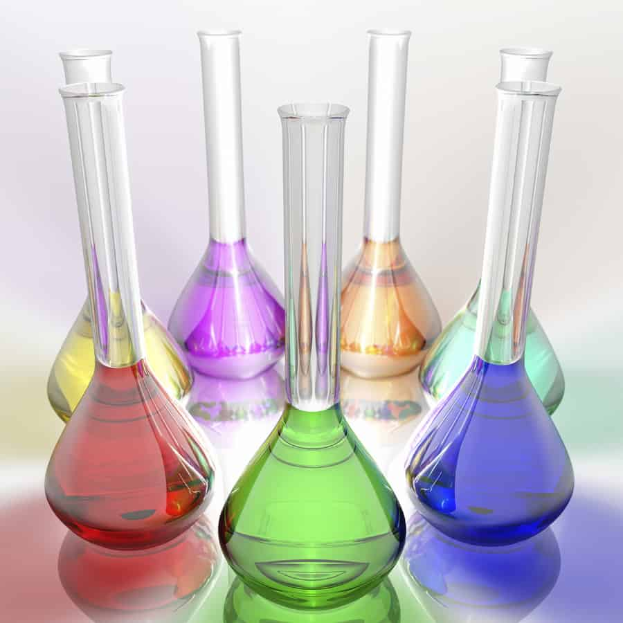 Colorful Beakers