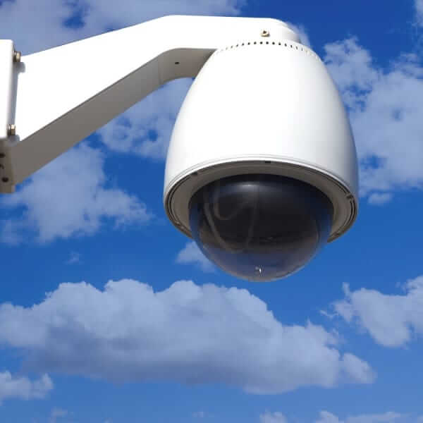 weatherable security camera coating